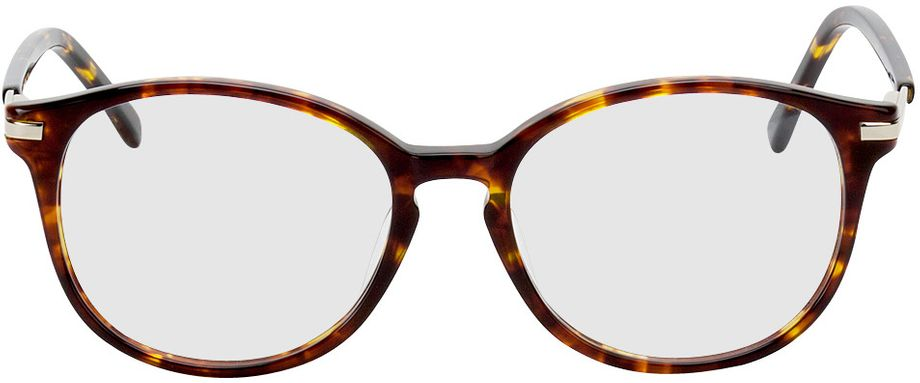 Picture of glasses model Madena lightbrown/brown-mottled in angle 0