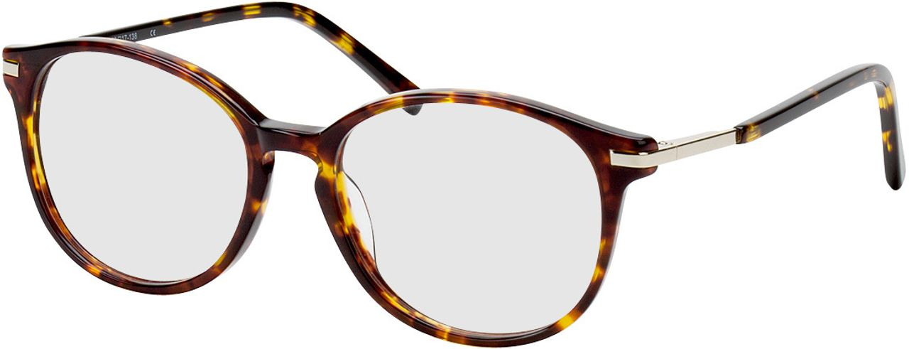 Picture of glasses model Madena lightbrown/brown-mottled in angle 330