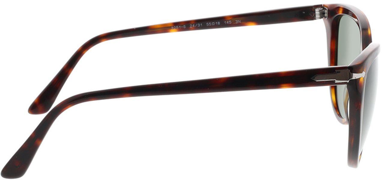 Picture of glasses model Persol PO3251S 24/31 55-18 in angle 90