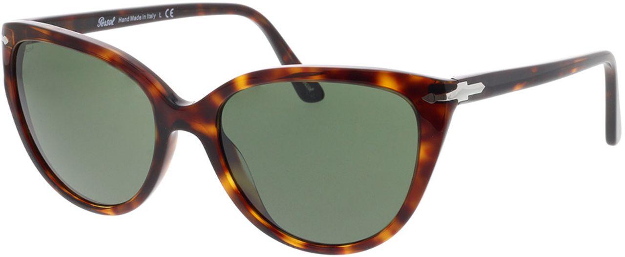 Picture of glasses model Persol PO3251S 24/31 55-18 in angle 330