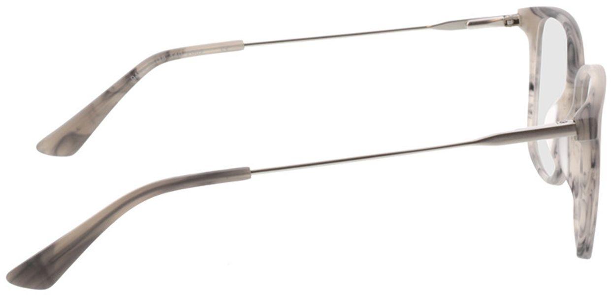 Picture of glasses model Lazio-grau-meliert/silber in angle 90