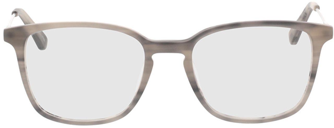 Picture of glasses model Lazio-grau-meliert/silber in angle 0