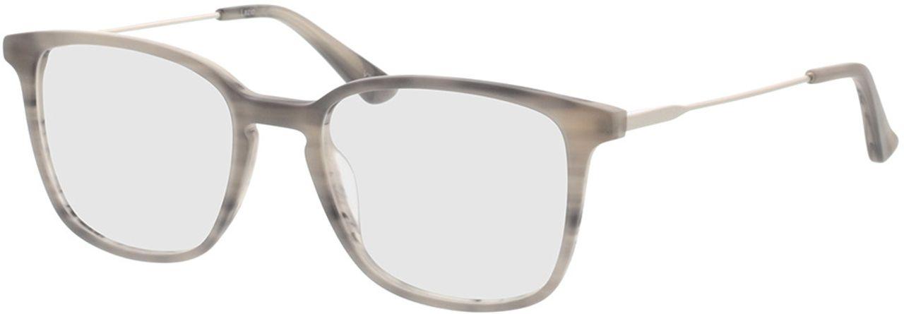 Picture of glasses model Lazio-grau-meliert/silber in angle 330