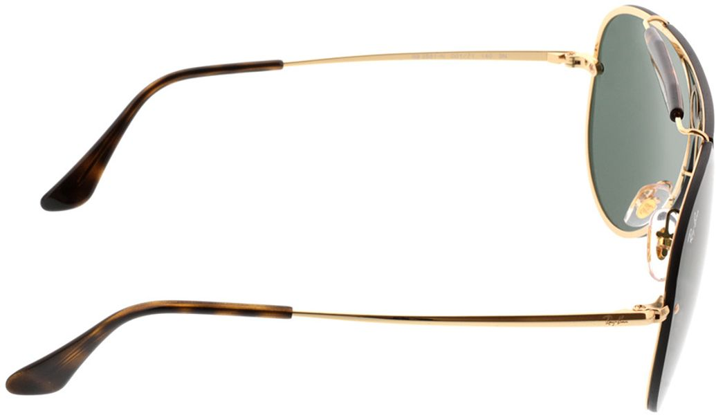 Picture of glasses model Ray-Ban RB3581N 001/71 32-132 in angle 90