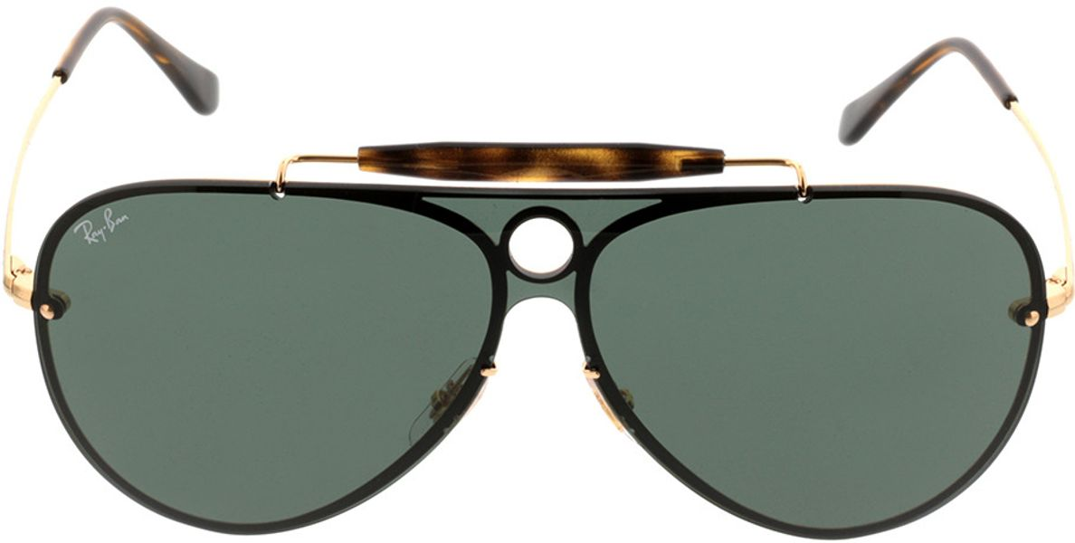 Picture of glasses model Ray-Ban RB3581N 001/71 32-132 in angle 0