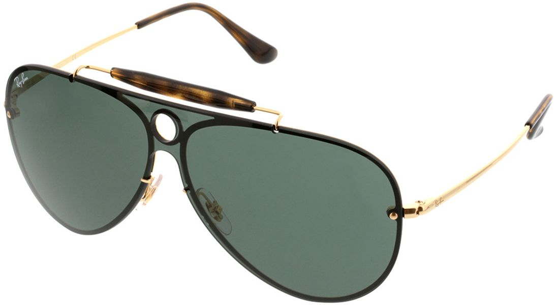 Picture of glasses model Ray-Ban RB3581N 001/71 32-132 in angle 330