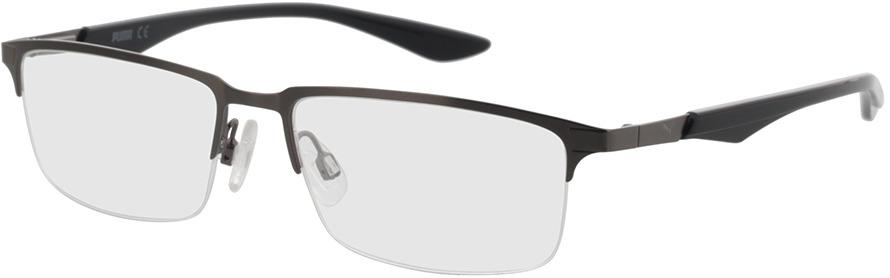 Picture of glasses model Puma PU0064O-003 54-16 in angle 330