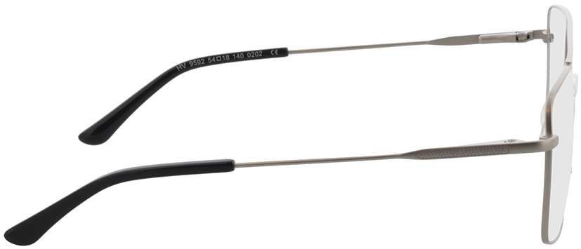 Picture of glasses model El Paso-silber in angle 90