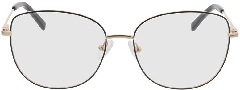 Picture of glasses model Winona-schwarz/gold in angle 0