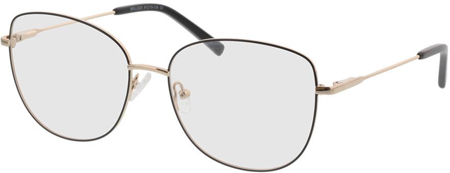 Picture of glasses model Winona-schwarz/gold in angle 330