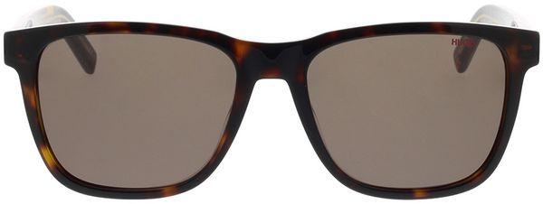Picture of glasses model Hugo HG 1073/S TBB 56-18 in angle 0