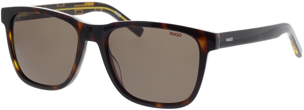 Picture of glasses model Hugo HG 1073/S TBB 56-18 in angle 330