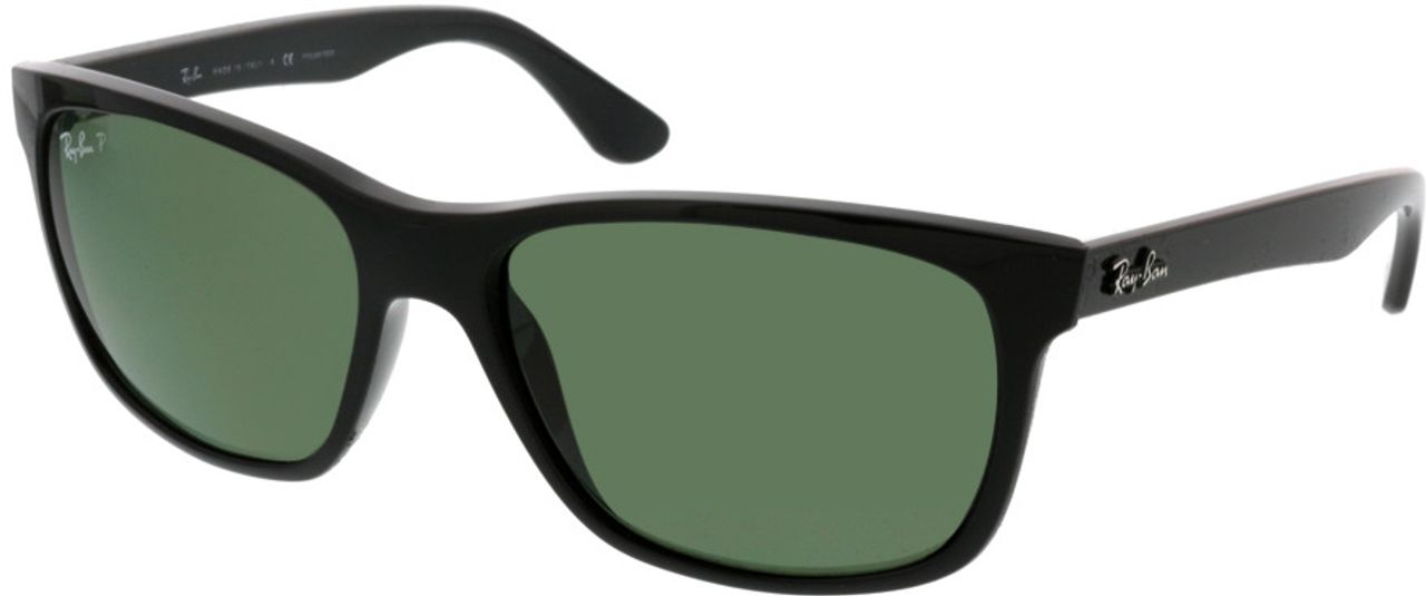 Picture of glasses model Ray-Ban RB4181 601/9A 57-16 in angle 330