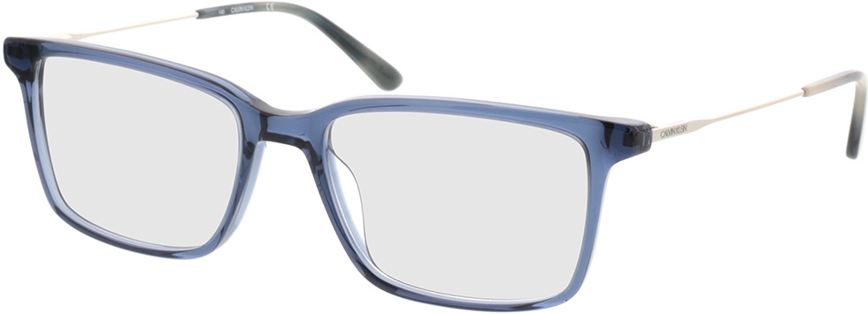 Picture of glasses model Calvin Klein CK38056 410 55-18 in angle 330