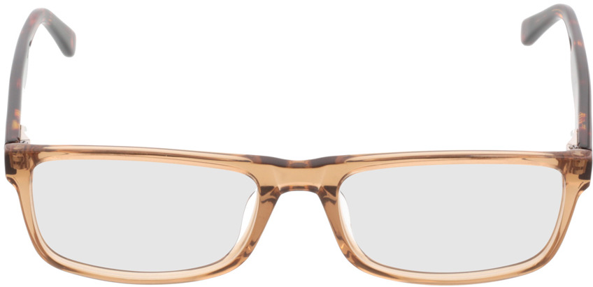 Picture of glasses model Hastings lightbrown-transparent in angle 0