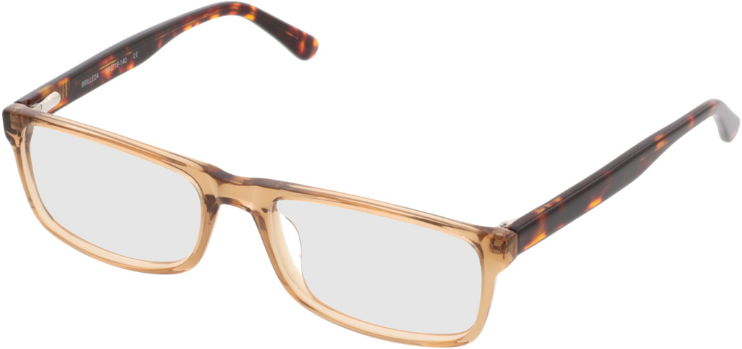 Picture of glasses model Hastings lightbrown-transparent in angle 330