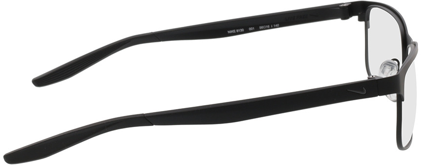 Picture of glasses model Nike NIKE 8130 001 56-16 in angle 90