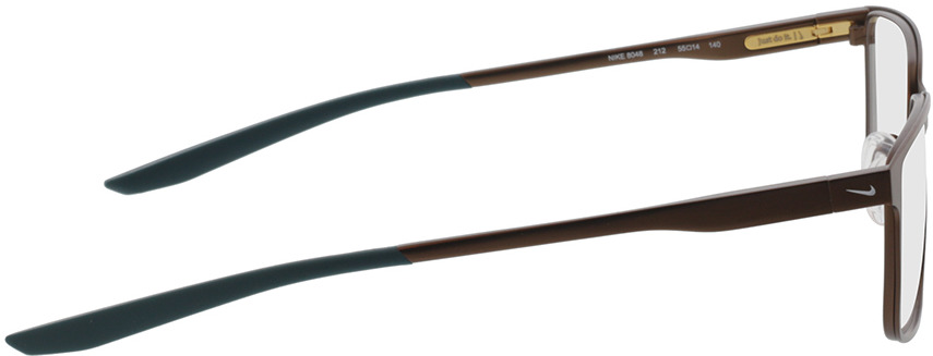 Picture of glasses model Nike NIKE 8048 212 55-14 in angle 90