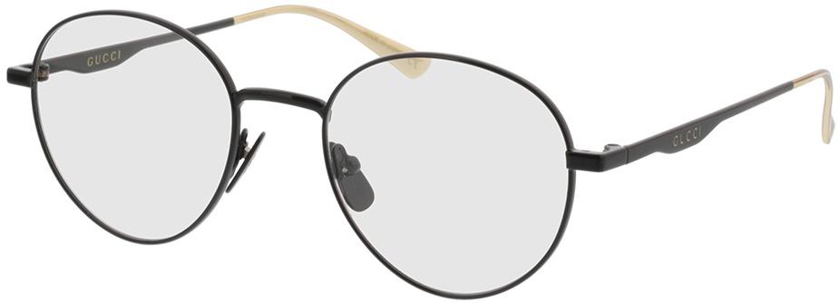 Picture of glasses model Gucci GG0337O-002 51-20 in angle 330
