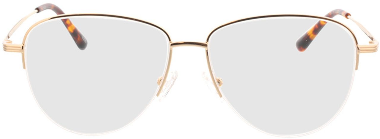 Picture of glasses model Tripoli-gold in angle 0