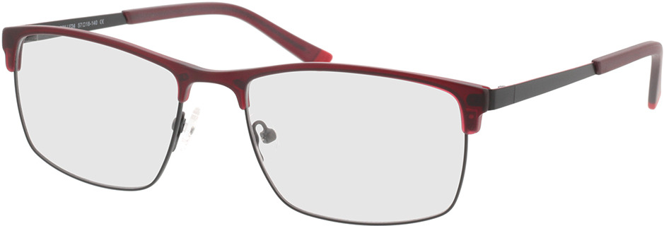 Picture of glasses model Longford rood in angle 330