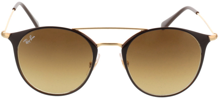 Picture of glasses model Ray-Ban RB3546 900985 49-20 in angle 0