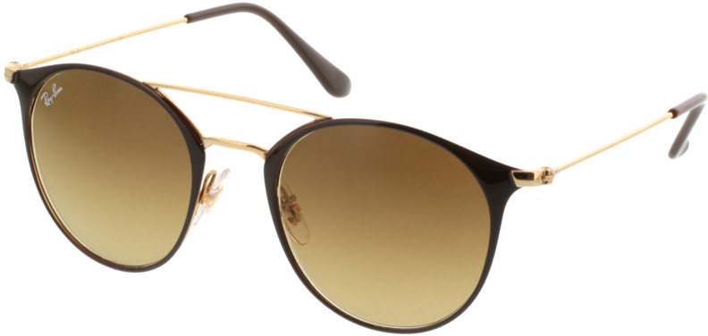 Picture of glasses model Ray-Ban RB3546 900985 49-20 in angle 330