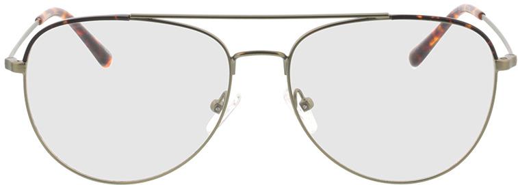Picture of glasses model Salmone-matt grün in angle 0