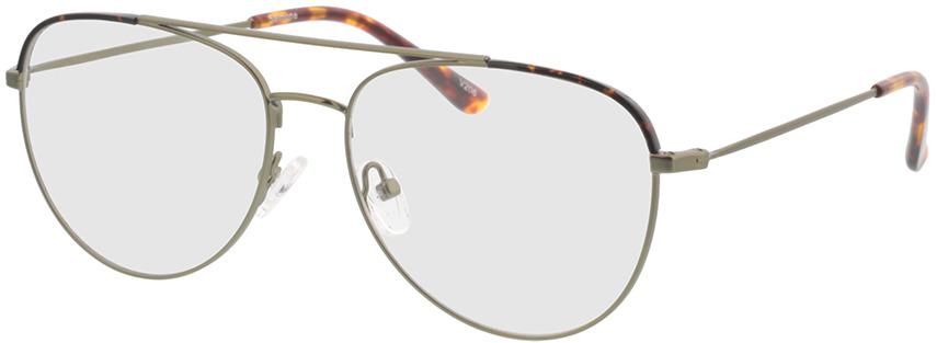 Picture of glasses model Salmone-matt grün in angle 330