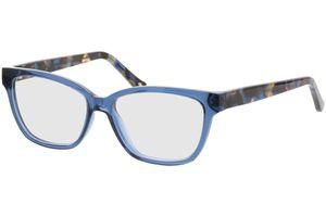 Tonia-transparent blau