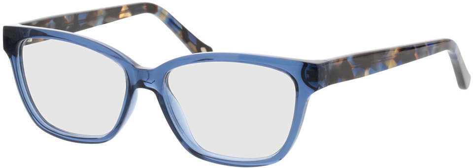 Picture of glasses model Tonia-transparent blau in angle 330