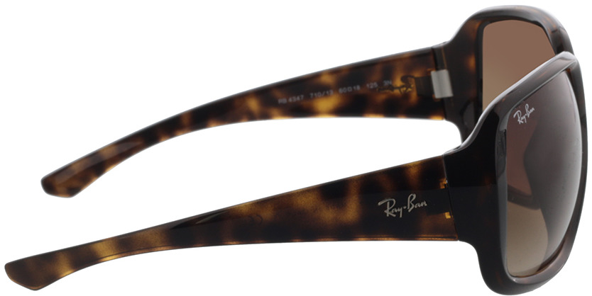 Picture of glasses model Ray-Ban RB4347 710/13 60-18 in angle 90