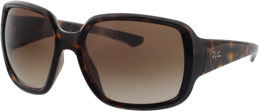 Picture of glasses model Ray-Ban RB4347 710/13 60-18 in angle 330