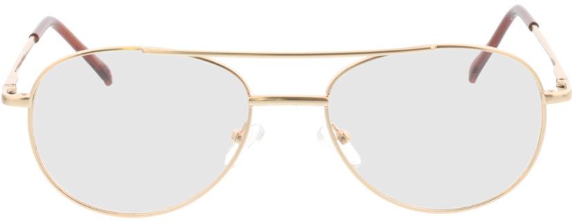 Picture of glasses model Amelio-matt gold in angle 0