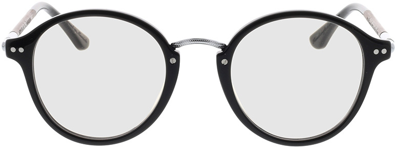 Picture of glasses model Wood Fellas Optical Löwenburg curled/black 47-21 in angle 0