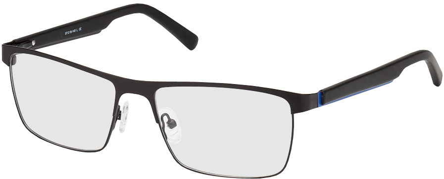 Picture of glasses model Aalborg-noir in angle 330