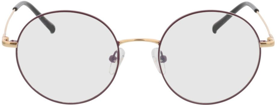 Picture of glasses model Circle-lila/gold in angle 0