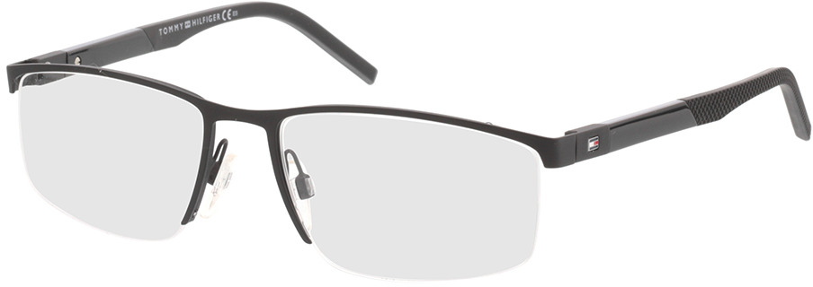 Picture of glasses model Tommy Hilfiger TH 1640 003 54-17 in angle 330