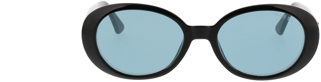 Picture of glasses model Guess GU7590 01X 54-18 in angle 0