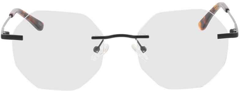 Picture of glasses model Ebro-schwarz in angle 0