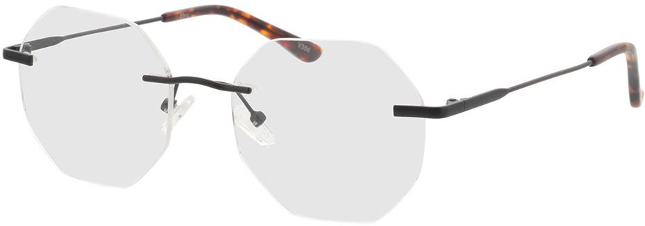 Picture of glasses model Ebro-schwarz in angle 330