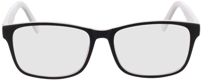 Picture of glasses model Nitro Zwart/white in angle 0
