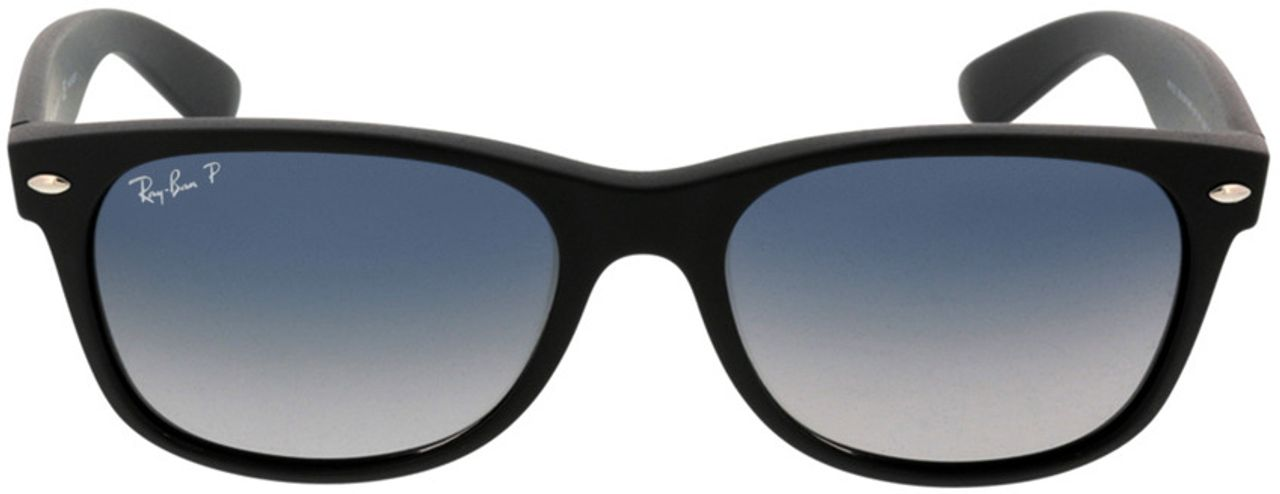 Picture of glasses model Ray-Ban New Wayfarer RB2132 601S78 55-18 in angle 0