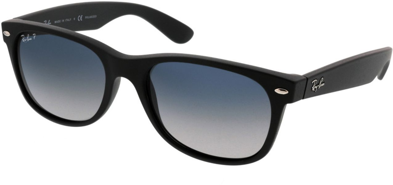 Picture of glasses model Ray-Ban New Wayfarer RB2132 601S78 55-18 in angle 330