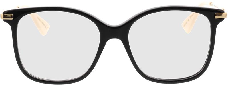 Picture of glasses model Gucci GG0512O-001 52-16 in angle 0