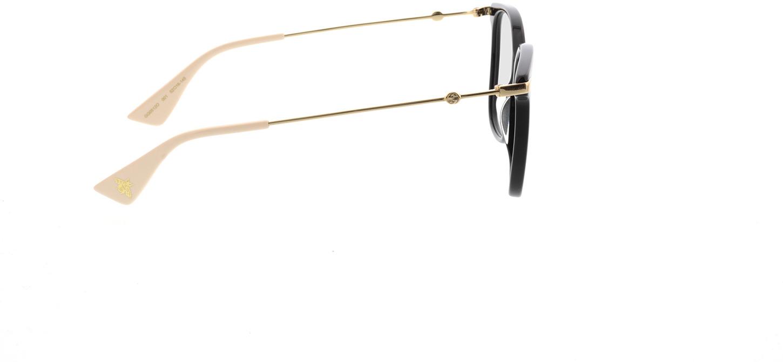 Picture of glasses model Gucci GG0512O-001 52-16 in angle 90