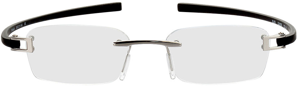 Picture of glasses model Wellington zilver/zwart in angle 0