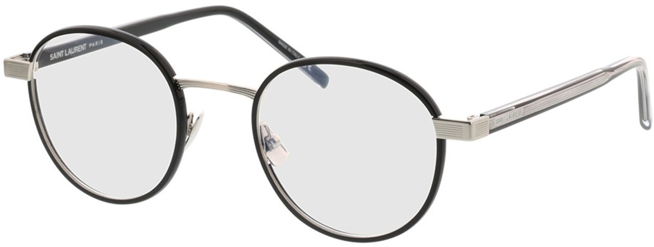 Picture of glasses model Saint Laurent SL 125-001 49-22 in angle 330