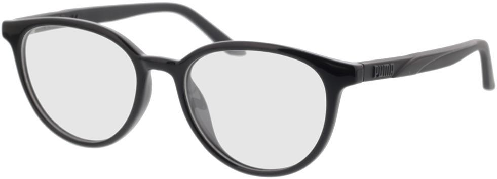 Picture of glasses model Puma PU0346O-001 52-17 in angle 330