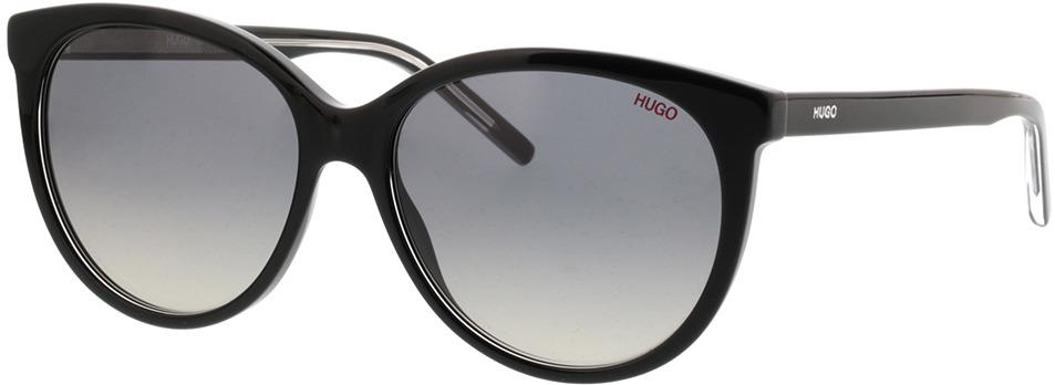 Picture of glasses model Hugo HG 1006/S 7C5 PR 56-16 in angle 330